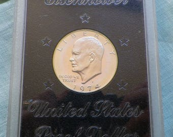 1974-S Eisenhower Dollar Silver Clad Proof