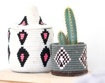 Moroccan Basket Pot