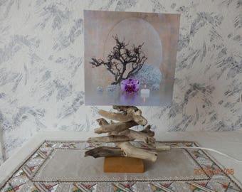 Unique Driftwood Lamp -Lamp   Wood Lamp   Handmade Wood Lamp   Driftwood Art   Living Room Lamp  