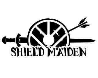 Shield Maiden Decal
