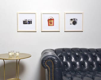 Photograph/german 35mm/gotham/detailed/1950s/black and silver/analog/retro/fine art/architectural/nostalgia/home decor/leitz/rangefinder