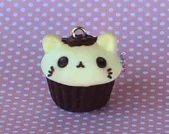 CLEARANCE Cat Cupcake / Charm / Kawaii / Jewellery