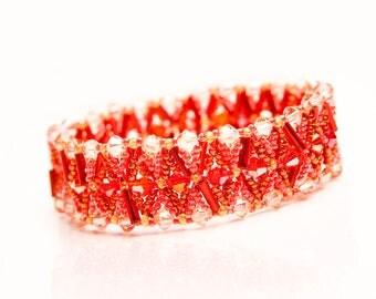 Unique Swarovski Bead Bracelet  for  Women Ladies Her