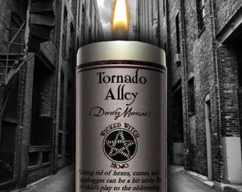 Uncrossing Tornado Alley wicked witch mojo candle