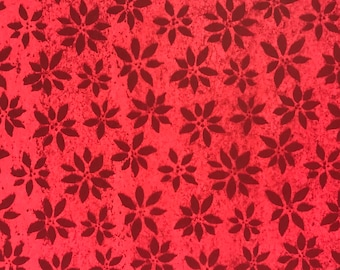 "Red Poinsettia Christmas Tissue Paper Gift Wrapping Flower Making 20""x30"""