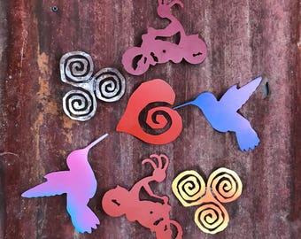 Metal Art Magnets