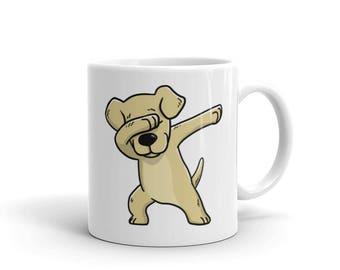 Cute Dabbing Labrador Retriever Mug Funny Dab Dance Dog Gift