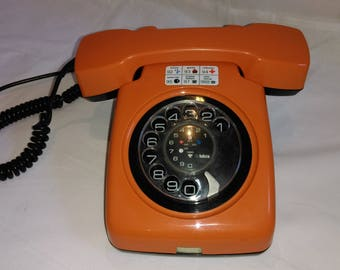 Original Rotary Telephone  by Iskra, Yugoslavia / Working Condition