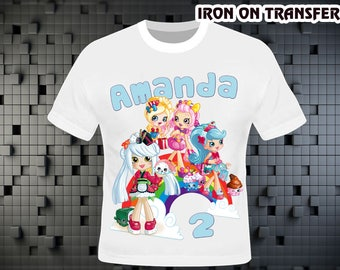 Shopkins Iron On Transfer , Shopkins Birthday Shirt DIY , Shopkins Shirt DIY , Iron On Transfer , Digital File