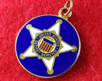 US Secret Service Charm