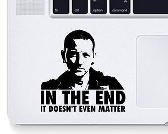 Chester Bennington decal sticker laptop phone
