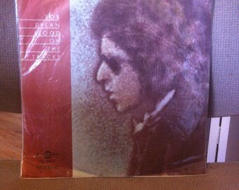 Bob Dylan Blood on The Tracks Vinyl Record Rare Taiwan Import Pressing EX Condition 1975