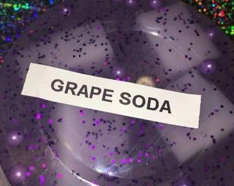 Grape Soda Jelly Cube slime