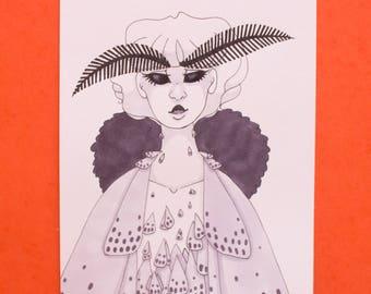 Moth - Original Illustration