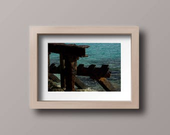 Beach Getaway Series: Rusty Structure