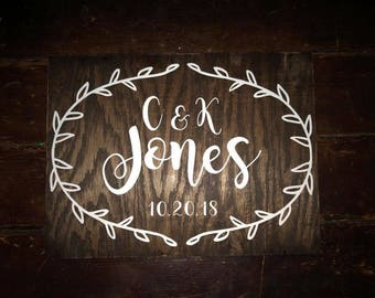 Wedding Sign/Gift