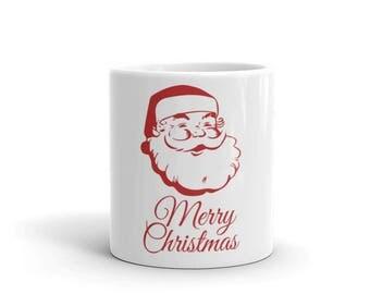 Merry Christmas Holiday Mug