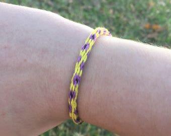 Kumihimo Embroidery Floss String Bracelets