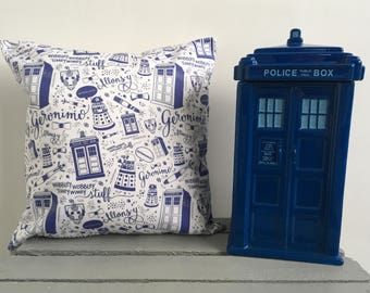 Doctor Who Cushion Cover-Dalek Cushion Cover-Cyberman Cushion Cover-Tardis Cushion Cover