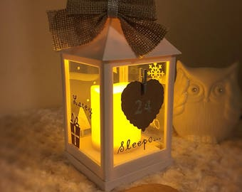 Christmas Advent LED Lantern