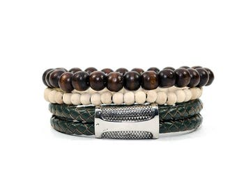 3 Pack Commando Bracelet Set