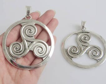 Triskele / Triskelion  Pagan / Celtic Pendant