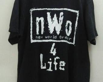 Vintage NWO New World Oder 4 Life shirt