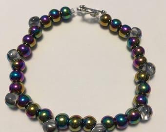 Irredescent bracelet