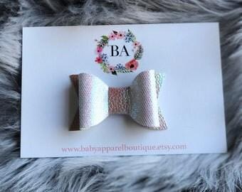 Baby Girl Iridescent Hair Bow