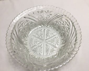 Glass Cut Bowl