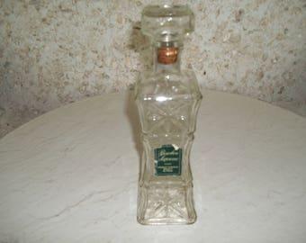 Vintage Bourbon Supreme whiskey decanter
