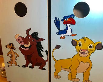 Character Corn hole Boards