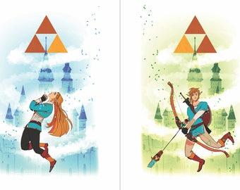 Link/Zelda BOTW