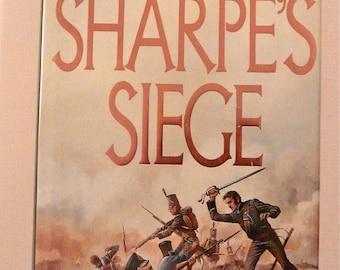 Sharpe's Siege by Bernard Cornwell Signed First Edition 1987