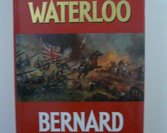 Sharpe's Waterloo by Bernard Cornwell Signed First Edition 1990