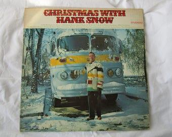 Hank Snow / Christmas With / Vinyl LP / RCA Victor / LPM 3826
