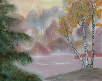 ORIGINAL oil painting on canvas, 16x20