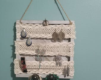 Jewelry Lace Hanger