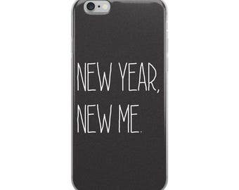Ships Very Fast!  iPhone Case, iPhone 6/6s, iPhone 6 Plus/6s Plus, iPhone 7/8, iPhone 7 Plus/ iPhone 8 Plus, Cute, New Years, Girly, Fun