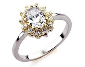 BestOfBijoux® Connie - Rosette Design Ring - Women Ring - Cubic Zirconia