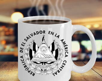 El Salvador Color Changing Mug
