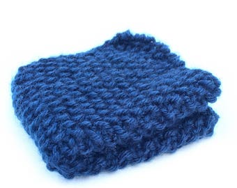 Washcloth, Dishcloth, Knit Washcloth, Knit Dishcloth , Facecloth, knit facecloth, Blue Washcloth, blue facecloth, cleaning cloth