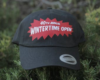 40th Wintertime Open Fundrasier Dad Hat