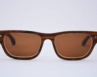 Empelt sunglasses model Malpas Walnut