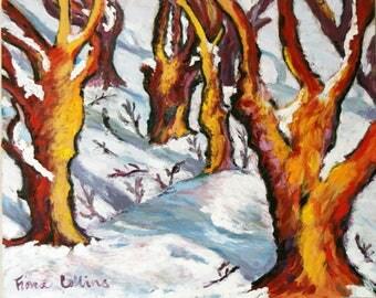 Ceramic Trivet - Winter