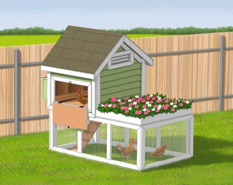 cosy designs for chicken houses. Chicken Coop Plans  Eggshire Farm Gingerbread Duck House PDF Room in for up to 6
