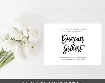 Funeral Thank you Cards Sympathy Thank You Cards Memorial Thank You Card Thank You Notes Sympathy Card Printable Sympathy Acknowledgment