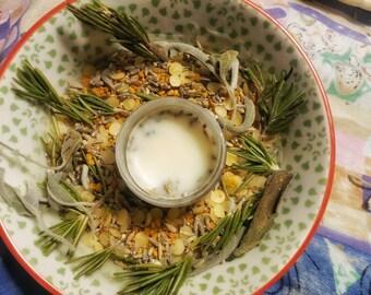 Lavender - Tea tree Lip balm and Salve