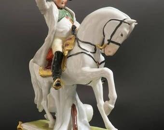 19th C. Porcelain Figure of Napoleon Bonaparte