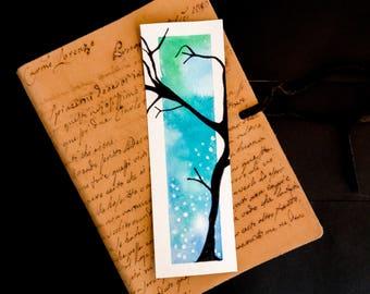 Dusk Watercolor Bookmark